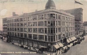 MINNEAPOLIS, Minnesota, PU-1913; Donaldson's Glass Block Store