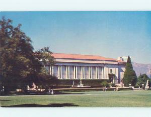 Unused Pre-1980 LIBRARY SCENE Pasadena California CA hs2096