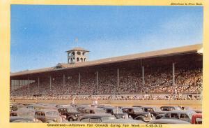 Grandstand Crowd~Allentown PA Nice 1940s Cars~Fair Grounds~Dexter 1940s