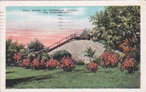 Florida Saint Petersburg The Shell Mound 1935