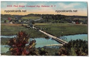 Float Bridge, Irondequoit Bay, Rochester NY
