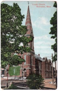 Worcester, Mass, Trinity Church