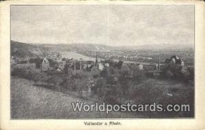 Vallendar a Rhein Germany, Deutschland Postcard  Vallendar a Rhein