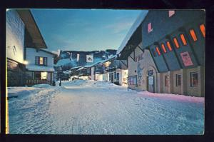 Vail, Colorado/CO Postcard, Bridge Street, Ski & Resort Area, 1967!