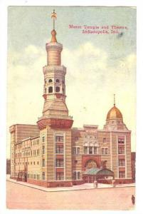 Murat Temple and Theatre, Indianapolis, Indiana, PU-1910