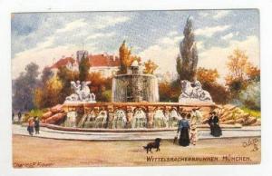Wittelsbacherbrunnen, Munchen, Germany, 00-10s