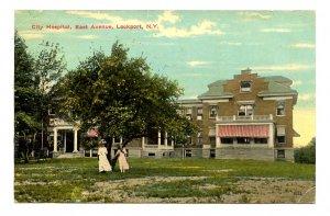 NY - Lockport. City Hospital, East Avenue