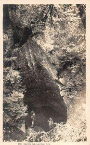LPS15 Lost River New Hampshire Giant Pot Hole Postcard RPPC