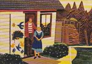 Canada Maude's Place By Digby Woodcarver Stephen Outhouse Digby Nova Scotia