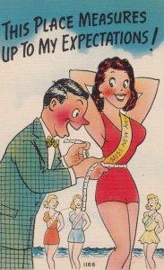 Pin-Up Bathing Beauty Comic , 1930-40s