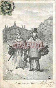 Old Postcard Pontoise