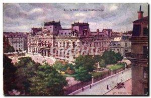 Lyon - La Prefecture - Old Postcard