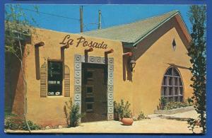 Abilene Texas tx La Posada Restaurant Burro Alley postcard