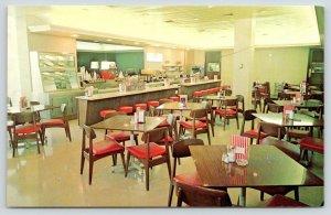 Washington PA~Hospital Ladies Auxillary Dining Room~Fountain Drinks~Counter~1965