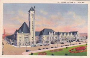 Missouri St Louis Union Station Curteich