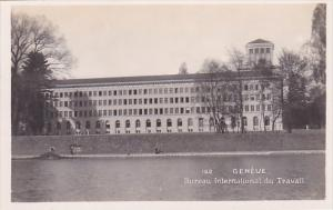 Switzerland Geneve Bureau International du Travail Real Photo