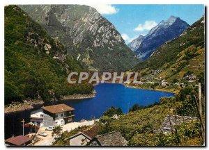 Postcard Modern Berzona Vogorno Verzasca
