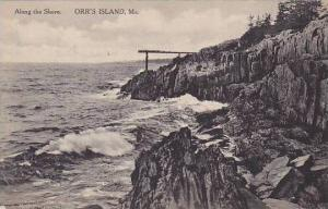 Maine Orrs Island Along The Shore Albertype