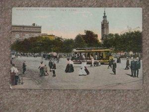 Madison Square & Tower, N.Y. City- Trolleys,  unused vintage card