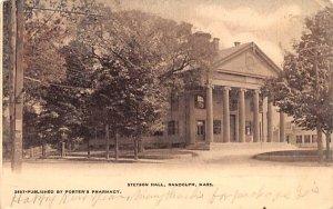 Stetson Hall in Randolph, Massachusetts