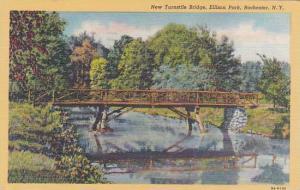 New York Rochester New Turnstile Bridge Ellison Park 1946
