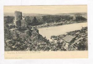 Burg Katz, St. Goarshausen u. St. Goar a. Rh. (Rhineland-Palatinate), Germany...