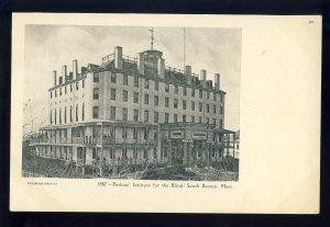 South Boston, Massachusetts/MA Postcard, Perkins' Institute For The Blind