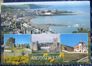 Wales Aberystwyth Castle Cliff Railway University - posted