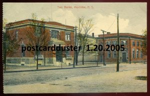 2005 - KENTVILLE Nova Scotia 1910s Street View. Banks by Morton