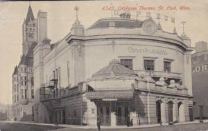 Minnesota St Paul Orpheum Theatre 1912