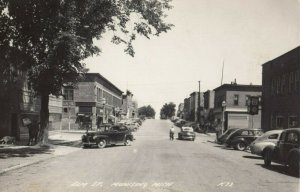 RP: MUNISING , Michigan , 1930-40s ; Elm Street