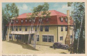 Battery Park Hotel , GASPE , Quebec , Canada , 1930s