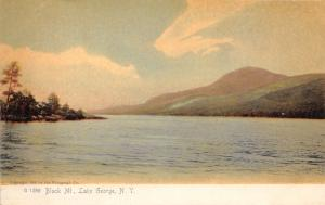 LAKE GEORGE NY BLACK MOUNTAIN~ROTOGRAPH #1289 PUBL POSTCARD 1900s