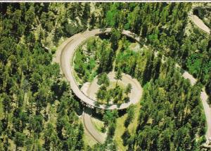 South Dakota Black Hills Aerial View Pigtail Bridges