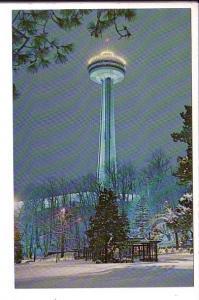 Skylon Park, Niagara Falls, Ontario, Winter Snow
