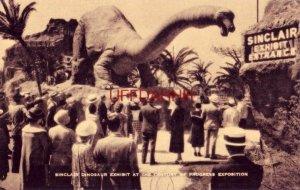 SINCLAIR DINOSAUR EXHIBIT - CHICAGO WORLD'S FAIR 1933-34 Century of Progress