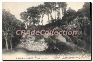 Old Postcard St Valery Tour Harold