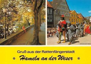 Gruss aus der Rattenfaengerstadt, Street Promenade Festival Hameln an der Weser