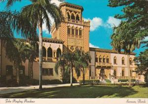 Florida Sarsota John Ringling Residence East Facade