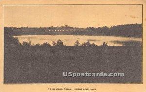 Camp Kiamesha - Highland Lake (Venoge, New York)
