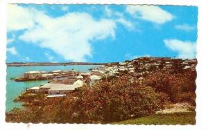 The town of St. George and the St. George Hotel, Bermuda, 40-60s