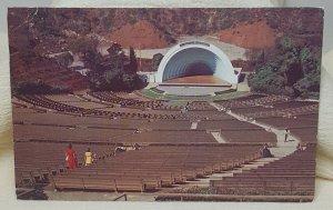 Hollywood Bowl California Vintage Postcard