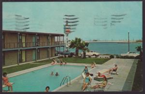 Surfside Motel on the Bay,Rockport,TX Postcard BIN
