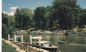 Yachts rendezvous at Chatham, Massachusetts, 40-60s
