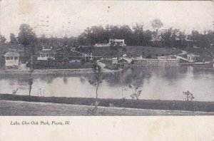 Illinois Peoria Lake Glen Oak Park 1909
