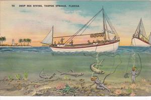 Florida Tarpon Springs Deep SEa Diving