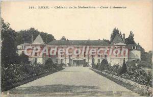 Old Postcard Rueil Malmaison Chateau de la Cour d'Honneur
