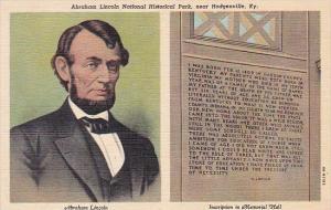 Abraham Lincoln National Historical Park Near Hodgenville Kentucky Curteich