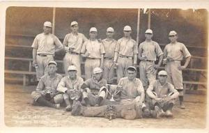 1918 Winners Baseball Postcard Unknown