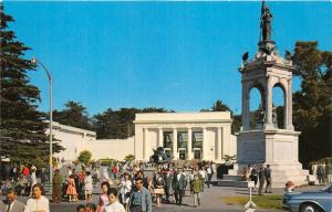 San Francisco California~Golden Gate Park~Academy of Sciences~Monument~1950s Pc